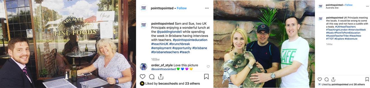 Head teachers seeing sights of Brisbane