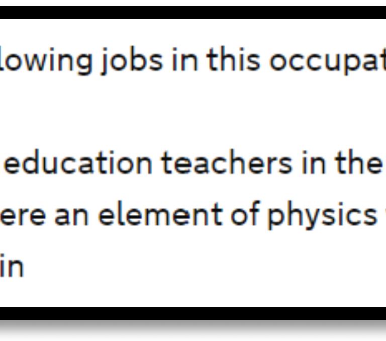 shortage occupation teachers